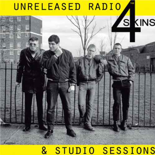 4 SKINS Unreleased Radio & Studio Sessions LP (Black)