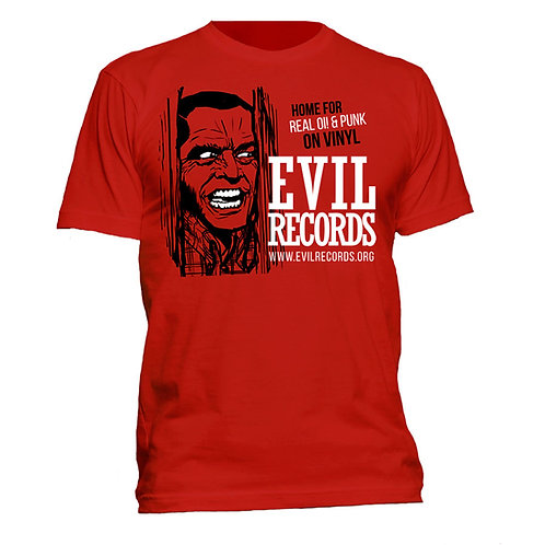 EVIL RECORDS Home for Real Oi! & Punk T-shirt