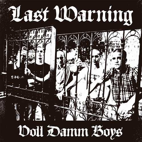 LAST WARNING Voll Damm Boys LP (Black) Limited edition 265 copies