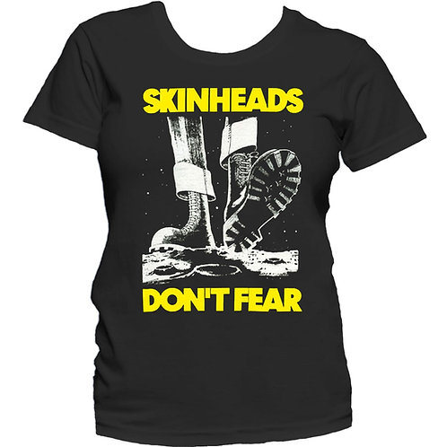 SKINHEADS DON'T FEAR T-shirt GIRL