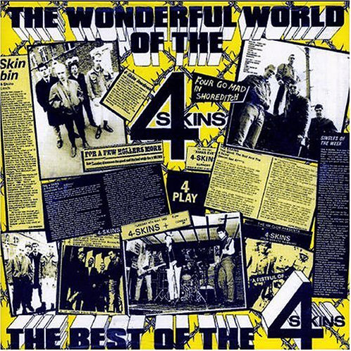 4 SKINS The Wonderful World of the 4 Skins LP