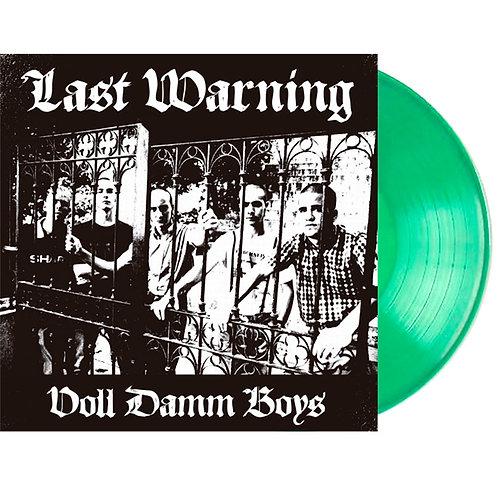 LAST WARNING Voll Damm Boys LP (Transparent green vinyl) Limited 100 copies