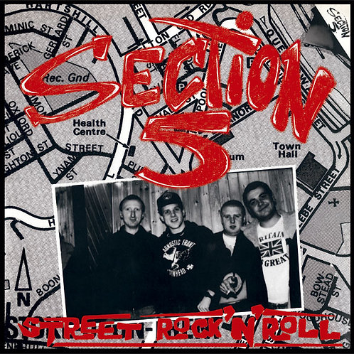 SECTION 5 Street Rock n Roll LP (Black vinyl) Limited to 325 copies