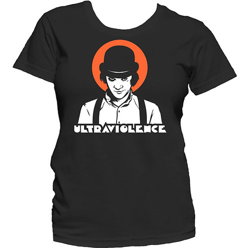 CLOCKWORK ORANGE Ultraviolence GIRL T-shirt