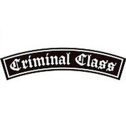 CRIMINAL CLASS Shoulder Patch