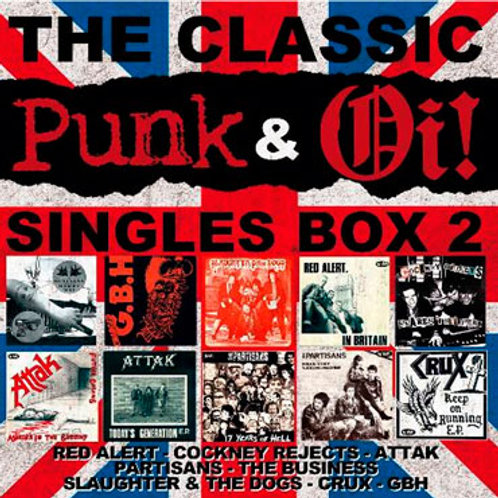 V/A The Classic Punk & Oi! Singles Box 2