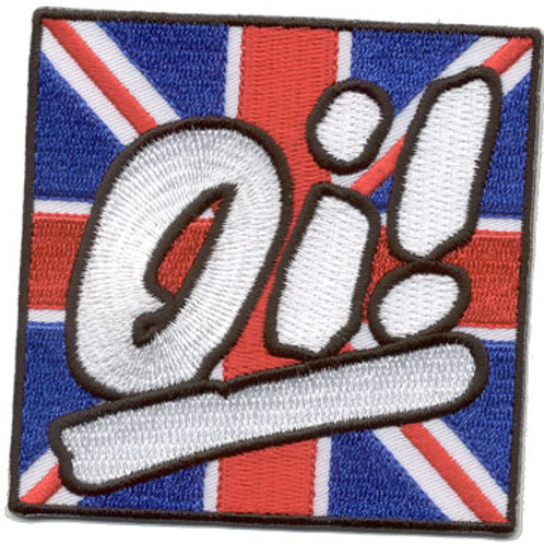 OI! Union Jack Patch