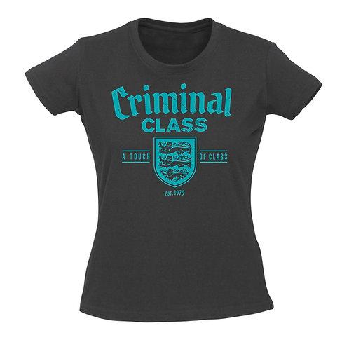 CRIMINAL CLASS England GIRL T-shirt