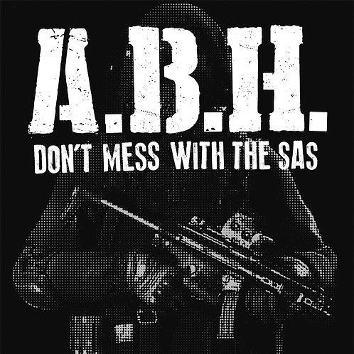 "ABH Don't Mess with the SAS 7"" Black cover"