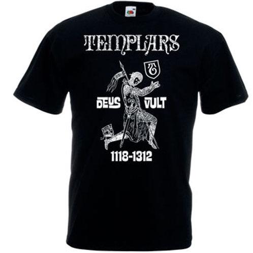 THE TEMPLARS Deus Vult Tshirt