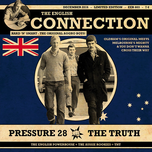 """PRESSURE 28 / THE TRUTH The English Connection 7"""""""