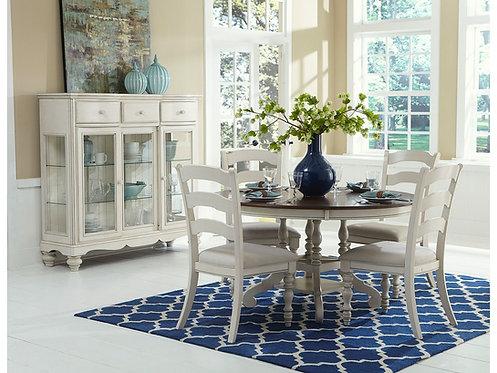 Table - 4 chaises - Pine Island