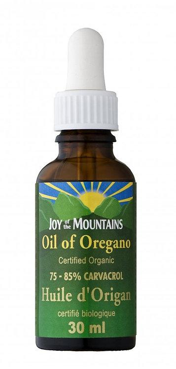 Huile d'origan Biologique | Joy of the Mountain | 30-15-10 ml