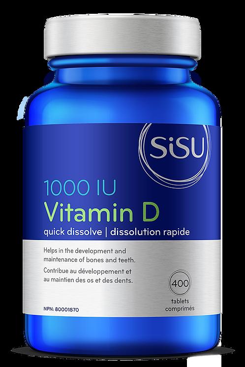 Vitamine D | Sisu | 400 comprimés