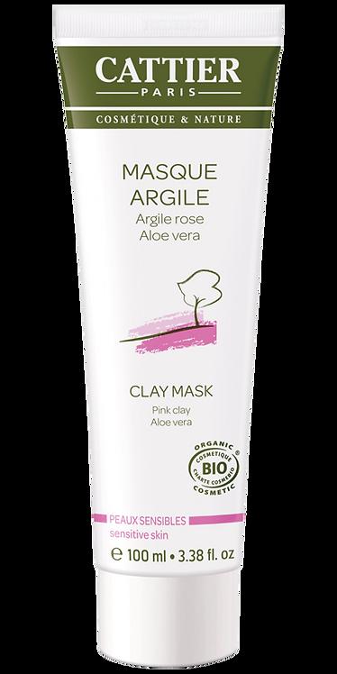 Masque Argile Rose | Cattier Paris | 100 ml