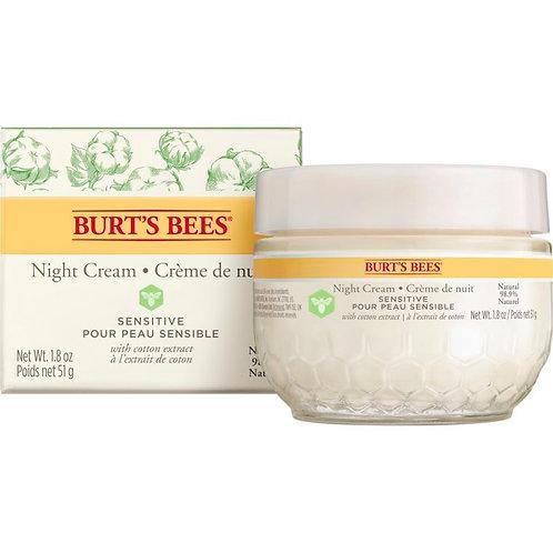 Crème de nuit - Gel hydratant   Burt's Bees   50 G