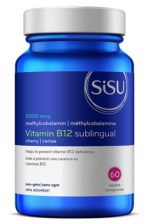 Vitamine B12 Sublingual | Sisu | 60 comprimés