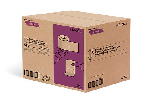 Papier de toilette 160A1 | Standard - 2 épaisseurs | Cascades PRO Sélect