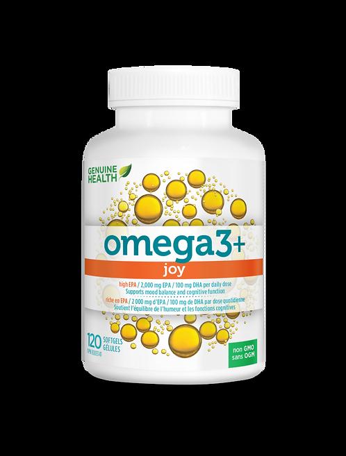 Omega 3+ Joy | Genuine Health | 120 gélules