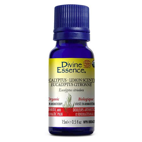 Huile Essentielle | Divine Essence | Eucalyptus Citronné Biologique