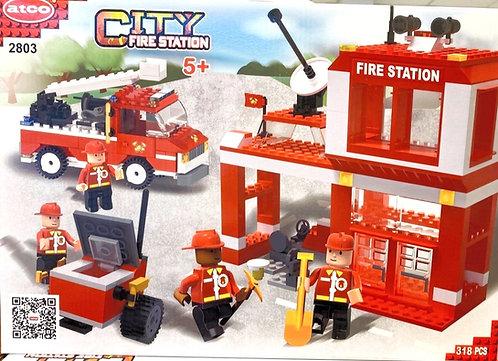 Lego ATCO | Station de pompiers | 318 mcx