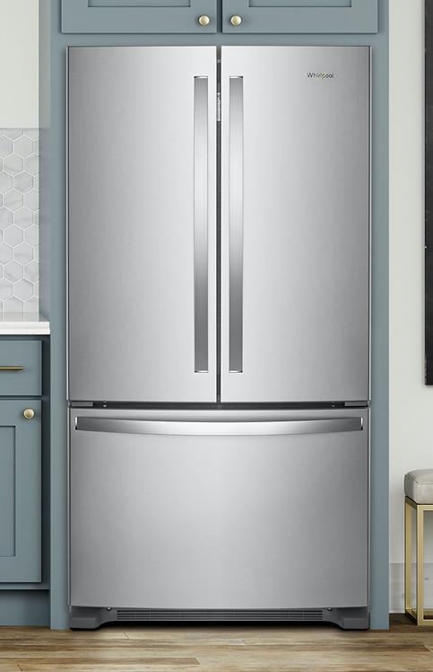 Réfrigérateur portes françaises - Whirlpool - WRF540CWHZ