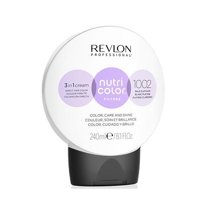 Traitement   Nutri color 1002 - Blanc Platine   Revlon