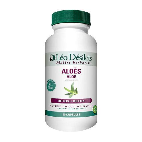 Aloès 100 mg | Léo Désilets | 90 Capsules végétales
