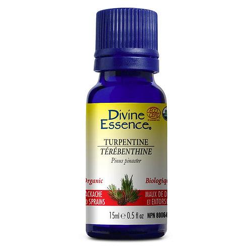 Huile Essentielle | Divine Essence | Térébenthine Biologique