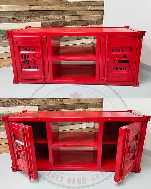 Meuble de télévision - Métal - Container