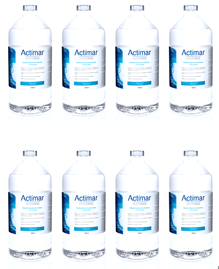ISOTONIC | ACTIMAR | 8 bouteilles