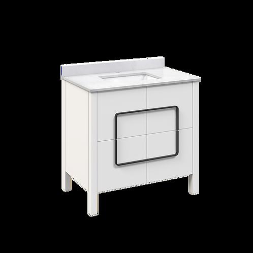 Meuble-lavabo - Drexel - 36 po