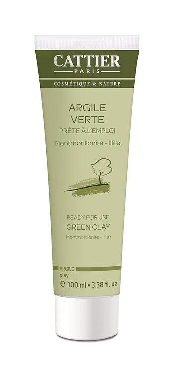 Masque Argile Verte | Cattier Paris | 100 ml