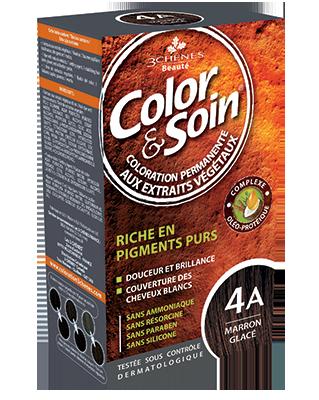 Teinture - Marron Glacé 4A | 3 Chênes | 135 ml