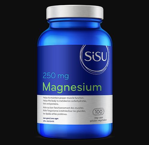 Magnésium 250 mg | Sisu | 100 Gélules végétales