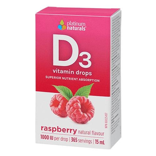 Vitamine D3   Platinium Naturals   365 doses