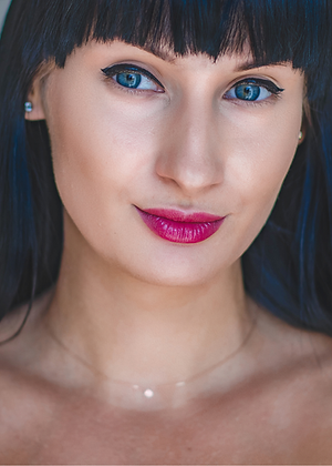 Mélange Longueur   Coloration   Noir bleuté