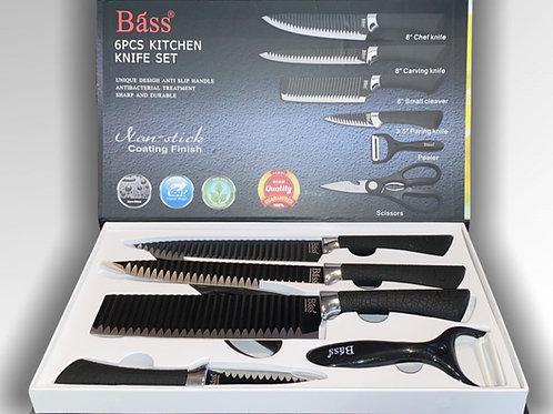 Ensemble de couteaux | Bass | 6 mcx