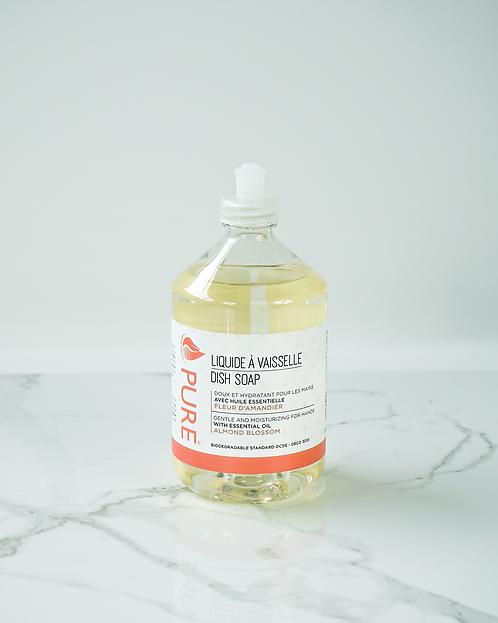 Liquide à vaisselle | Fleur d'amandier | Pure
