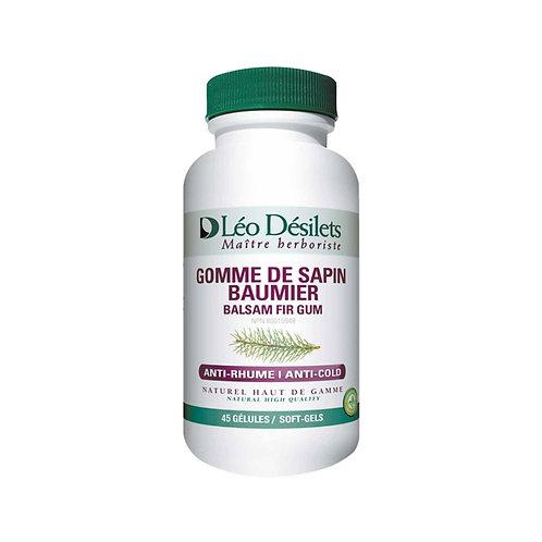 Gomme de Sapin Baumier | Léo Désilets | 45 Gélules végétales