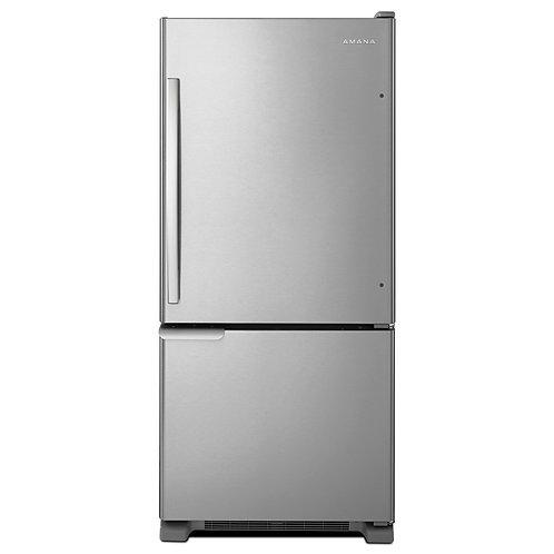 Réfrigérateur à congélateur inférieur   29 Po - AMANA