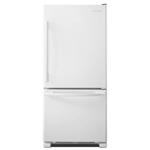 Réfrigérateur à congélateur inférieur | 18.5 Pi³ - AMANA