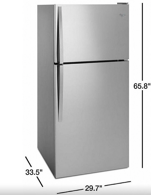 Réfrigérateur - Whirlpool - WRT148FZDM