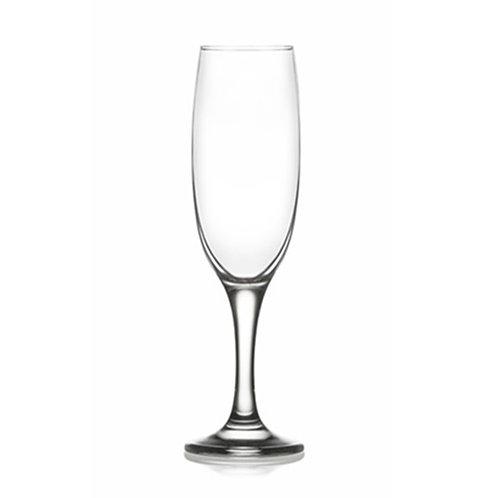 Ensemble de 6 flûtes à champagne | 220 ml | LAV