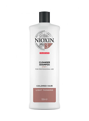 Shampoing | Cleanser #3 | Nioxin