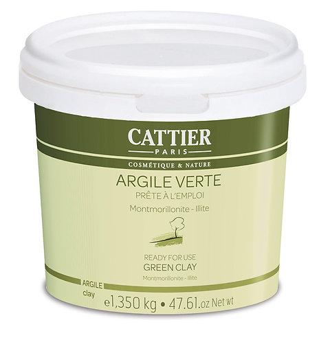 Masque Argile Verte | Cattier Paris | 1KG