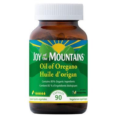 Huile d'origan Biologique | Joy of the Mountain | 90 Capsules