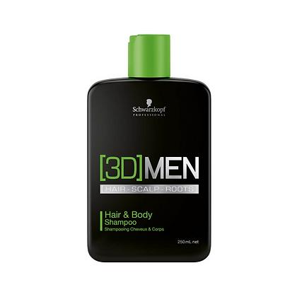 Shampoing l Corps & Cheveux | 3D Men | Schwarzkopf