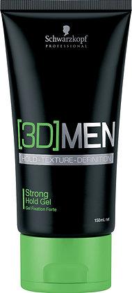 Gel fixation forte | 3D Men | Schwarzkopf