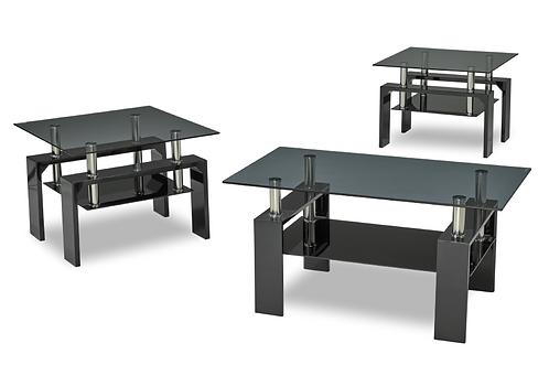 RUSH | Ensemble de 3 tables de salon - 2011